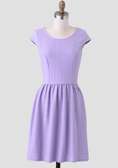Lilac Fields Textured Dress at #Ruche @shopruche