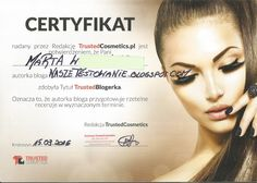 Nasze Testowanie: Certyfikat od Trusted Cosmetics Trust, Cosmetics, Blog, Author, Makeup Geek