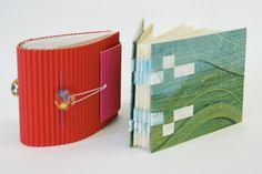 Handbound miniature books by Marleen Derweduwen