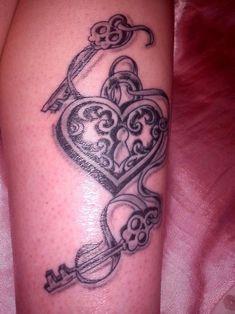 heart locket & keys