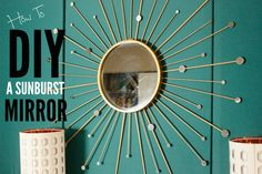 How To DIY A Sunburst Mirror I Pinterest is SHADY! I  Ep: 12