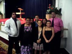 My family at seek peace n pursue it assembly