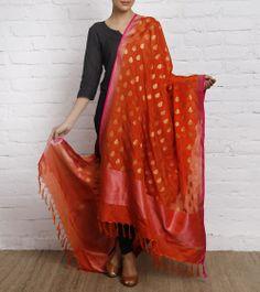 Silk Handwoven Dupatta