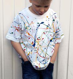 Paint Spatter T-Shirt
