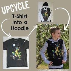 Create Kids Couture: How to Upcycle a Store-bought Tee
