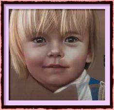 Dessin et peinture - vidéo 2424 : L'hyperréalisme en peinture - portrait d'enfant (le visage) 3.