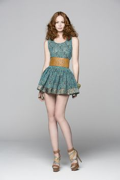 set of mini skirt and top. Pure Yute.