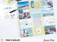 Journaling Pocket Page Style with Pink Paislee Fancy Free | @jamiepate for @pinkpaislee