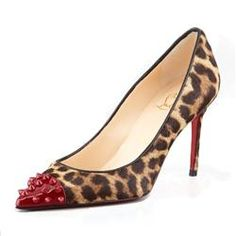 All You Need is Love And Christian Louboutin Geo 80mm Pumps Leopard EOK!