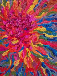 Rebelragruggers, beautiful explosion of color by Jane