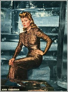 Old Movie Magazine Cover | Love Those Classic Movies!!!: Glamour Girl: Ann Sheridan