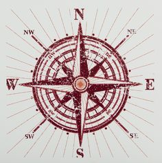 Ship Compass Wall Art