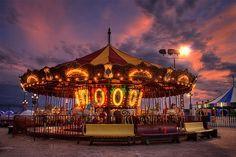 Beautiful & Colorful Carousel Photography