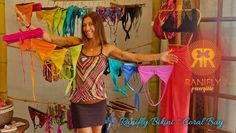 Ranifly Bikini, Coral Bay St. John. Custom and off the rack 2-piece suits in the coolest patterns. The most comfortable suit you'll ever wear!