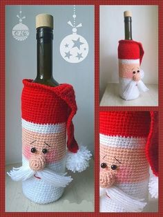 ideas for crochet bag tutorial free christmas gifts Free Christmas Gifts, Crochet Christmas Ornaments, Christmas Crochet Patterns, Holiday Crochet, Christmas Crafts, Crochet Santa, Crochet Gifts, Crochet Toys, Free Form Crochet