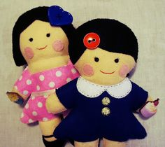 MiNa's Food Adventures: MiNa Softie Dolls