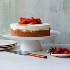 Triple-Cheese Cheesecake with Amaretti Crust | Food & Wine