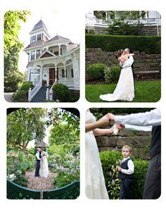 Historic Deepwood Estate in Salem, OR.