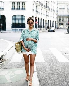 25 Cute Pregnancy Outfits For Summer Stayglam Fashion