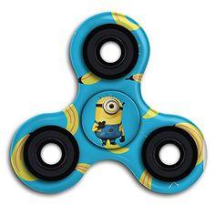 Cheap price ALEJANDRO VALADEZ Minions And Banana Funny Hand Tri-Spinner Fingertip Gyroscope Hand Fidget Spinner For Killing Time Kids