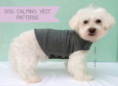 Dog Anxiety Vest Pattern Bundle All Sizes, Dog Vest Pattern, Anxiety Vest, Calming Vest, Sewing Patt Dog Sweater Pattern, Vest Pattern, Dog Pattern, Dog Vest, Dog Shirt, Dog Hoodie, Dog Clothes Patterns, Dog Anxiety, Dog Pajamas