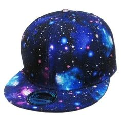 Amazon.com KBETHOS NW-1469GX GALAXY Snapback Baseball Cap ALL BLK ❤ liked on Polyvore featuring accessories, hats, baseball cap snapback, galaxy hat, galaxy snapback, baseball snapback hats and ball cap