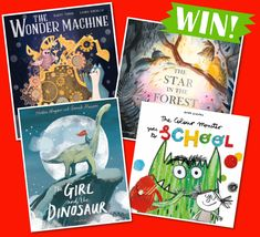 Storytime runs a kids competition each month where you can our brilliant Books of the Month and more! Enter today to be in with a chance of winning. Competitions For Kids, Monster Go, Girl Dinosaur, Story Time, Septum, Parenting, Picture Books, Pictures, Colour