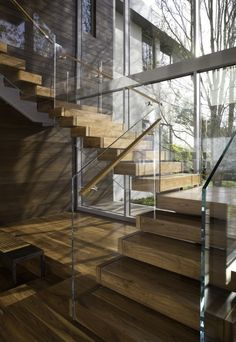 Take a look at 30 wooden types of stairs and stairway designs for modern homes. Home Stairs Design, House Design, Stair Design, Modern Stairs Design, Glass Stairs Design, Commercial Stairs, Types Of Stairs, Escalier Design, Wood Staircase