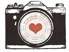 camera and heart