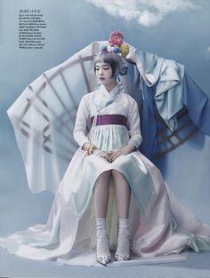 Vogue Korea Editorial June 2014 - So Hee Song by Hyea Won Kang