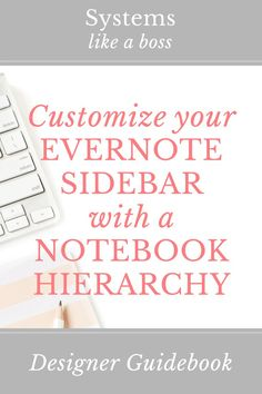 Creating a hierarchy in your Evernote sidebar is essential to organizing stacks and notebooks. Learn how I use naming conventions to outsmart the alphabet as well as how to create an Evernote Inbox and Evernote Archive. Click to read more!