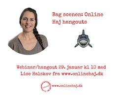 Jeg tager dig med om bag scenen i Online Haj og viser dig, hvordan du kan få en masse interesserede læsere af dit nyhedsbrev. Tilmelding her: https://business-hangouts.com/register.php?m=MTc5NTl8MzcwMzM=