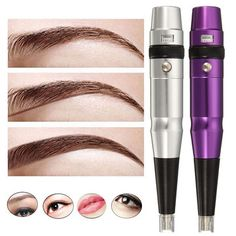 ddcd7fe793632 Semi Permanent Makeup Eyebrow Line Tattoo Pen Microblading Pencil Manual  Blade Holder is Nature-NewChic
