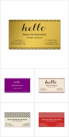 Unique Business Cards Collection