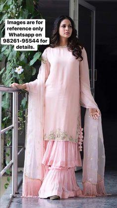 best 12 page 378513543676994571 skillofking com 666532813583781277 Gharara Designs, Kurta Designs Women, Pakistani Dress Design, Pakistani Dresses, Indian Gowns, Indian Outfits, Sarara Dress, Sleeves Designs For Dresses, Indian Designer Suits