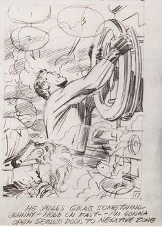 Comic Book Pages, Comic Book Artists, Comic Artist, Comic Books Art, Marvel Art, Marvel Comics, Comic Superheroes, Jack King, Jack Kirby Art