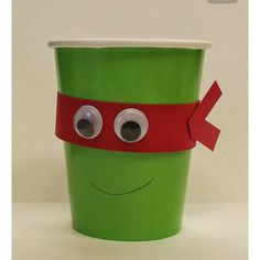 Adult ninja turtle cup idea
