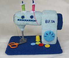 Máquina de coser a ganchillo