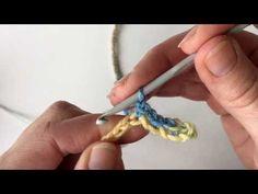 Novita tekniikkakoulu. Color pooling ensimmäinen kerros. - YouTube Opi, Bracelets, Floral, Rings, Youtube, Color, Jewelry, Style, Scarves