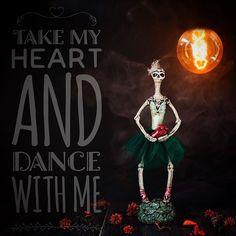 #presents #gift #bywilddrago #wilddragocraftshop #polymerclay #polymerclaydesign #ballet #dance #steampunk #steampunked #inferno #dark #handmade #collectibledoll #collectibletoys  #Regram via @wilddrago_craftshop