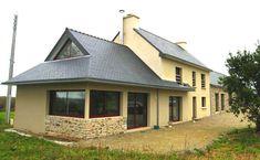 Extension, agrandissement maison Brest et Finistère (29) Brest, Architecture, Gazebo, Outdoor Structures, Cabin, Mansions, House Styles, Outdoor Decor, Home Decor