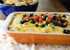 Baked Taco Dip. enough said.