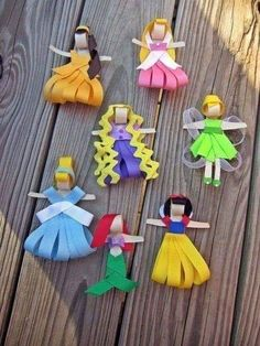 45 best disney crafts for kids images in 2017 Kids Crafts, Cute Crafts, Diy And Crafts, Craft Projects, Arts And Crafts, Fall Crafts, Disney Crafts For Kids, Handmade Crafts, Holiday Crafts