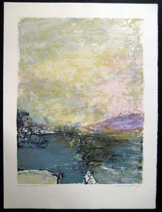mr. zao wou-ki (born 1921)  Untitled litograph (1991 france)