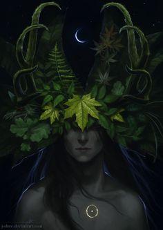 Rune [Cernunnos by jodeee on DeviantArt]