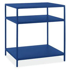 Room & Board - Slim 20w 18d 22h End Table with Shelves