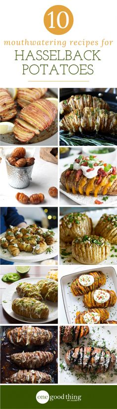 These Swedish-inspired seasoned potatoes turn out crisp on the outside, tender on the inside, and are heaven on a plate! Batatas Hasselback, Hasselback Potatoes, Baked Potatoes, Potato Dishes, Potato Recipes, Vegetable Recipes, Side Recipes, Great Recipes, Favorite Recipes