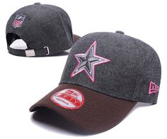 Dallas Cowboys NFL Baseball Caps Charcoal Gray Pink Curved Brim Hats|only US$6.00 - follow me to pick up couopons.