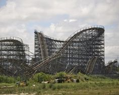 10 Most Incredible Abandoned Roller Coasters