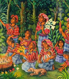 This is a piece of art that was made in Guatemala.